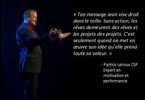 Patrick Leroux référence